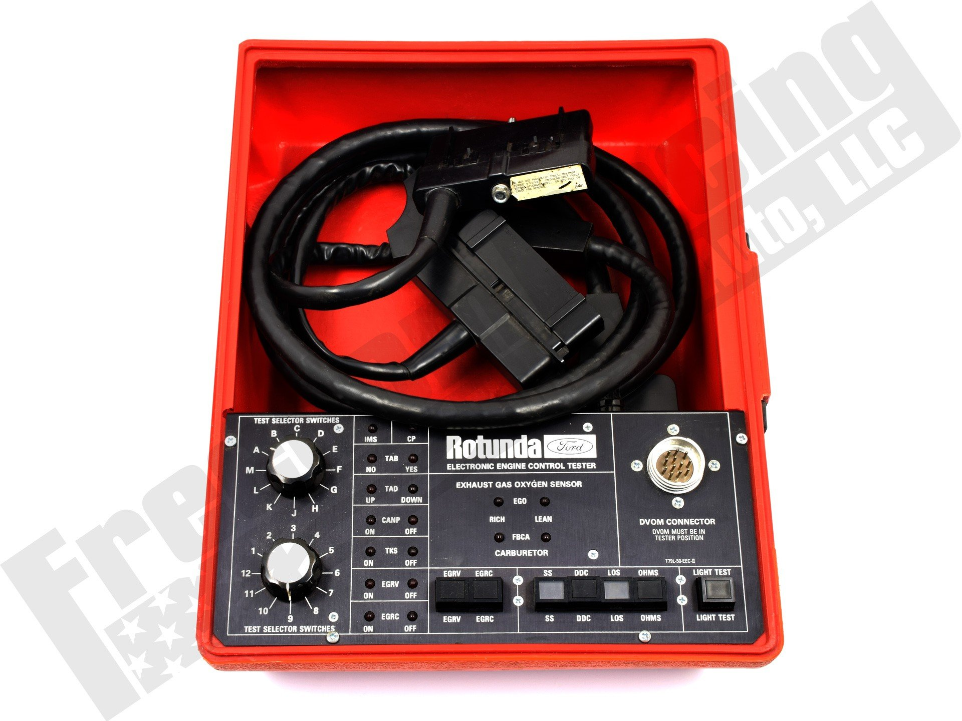Engine Control Console : Electronic engine control system tester t l eec